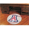 "FANMATS Arizona Baseball Mat 27"" diameter"