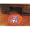 "FANMATS Arizona Basketball Mat 27"" diameter"
