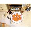 """FANMATS Clemson Baseball Mat 27"""" diameter"""