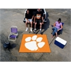 FANMATS Clemson Tailgater Rug 5'x6'