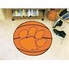 """FANMATS Clemson Basketball Mat 27"""" diameter"""
