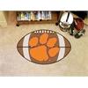 """FANMATS Clemson Football Rug 20.5""""x32.5"""""""