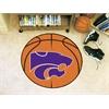 "FANMATS Kansas State Basketball Mat 27"" diameter"