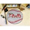 """FANMATS Mississippi Valley State Baseball Mat 27"""" diameter"""
