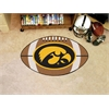 "FANMATS Iowa Football Rug 20.5""x32.5"""