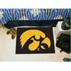 "FANMATS Iowa Starter Rug 19""x30"""