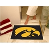 "FANMATS Iowa All-Star Mat 33.75""x42.5"""