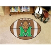 "FANMATS Marshall Football Rug 20.5""x32.5"""