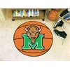 "FANMATS Marshall Basketball Mat 27"" diameter"