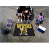 FANMATS West Virginia State Tailgater Rug 5'x6'