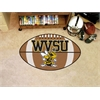 "FANMATS West Virginia State Football Rug 20.5""x32.5"""