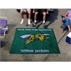 FANMATS Black Hills State Tailgater Rug 5'x6'
