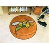 """FANMATS Black Hills State Basketball Mat 27"""" diameter"""