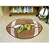 "FANMATS Black Hills State Football Rug 20.5""x32.5"""