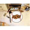 "FANMATS Oklahoma State Baseball Mat 27"" diameter"