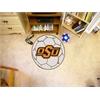FANMATS Oklahoma State Soccer Ball