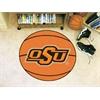 "FANMATS Oklahoma State Basketball Mat 27"" diameter"