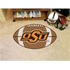 "FANMATS Oklahoma State Football Rug 20.5""x32.5"""