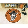 "FANMATS New Mexico State Basketball Mat 27"" diameter"