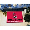 "FANMATS Ball State Starter Rug 19""x30"""