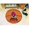 """FANMATS Ball State Basketball Mat 27"""" diameter"""