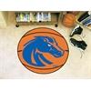 "FANMATS Boise State Basketball Mat 27"" diameter"