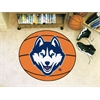 "FANMATS Connecticut Basketball Mat 27"" diameter"