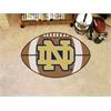 "FANMATS Notre Dame Football Rug 20.5""x32.5"""