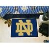"FANMATS Notre Dame Starter Rug 19""x30"""