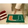 """FANMATS Miami All-Star Mat 33.75""""x42.5"""""""