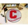 """FANMATS Cornell Baseball Mat 27"""" diameter"""