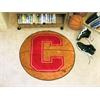 """FANMATS Cornell Basketball Mat 27"""" diameter"""