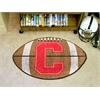 "FANMATS Cornell Football Rug 20.5""x32.5"""