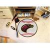 "FANMATS UL-Monroe Baseball Mat 27"" diameter"