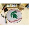 "FANMATS Michigan State Baseball Mat 27"" diameter"