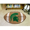 "FANMATS Michigan State Football Rug 20.5""x32.5"""