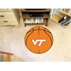 "FANMATS Virginia Tech Basketball Mat 27"" diameter"