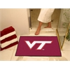 "FANMATS Virginia Tech All-Star Mat 33.75""x42.5"""