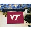 "FANMATS Virginia Tech Starter Rug 19""x30"""