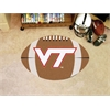 "FANMATS Virginia Tech Football Rug 20.5""x32.5"""