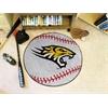 """FANMATS Towson Baseball Mat 27"""" diameter"""
