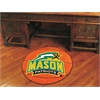 "FANMATS George Mason Basketball Mat 27"" diameter"