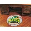 "FANMATS George Mason Baseball Mat 27"" diameter"