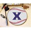 """FANMATS Xavier Baseball Mat 27"""" diameter"""