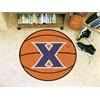 """FANMATS Xavier Basketball Mat 27"""" diameter"""