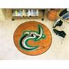 """FANMATS UNC - Charlotte Basketball Mat 27"""" diameter"""