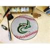 "FANMATS UNC - Charlotte Baseball Mat 27"" diameter"
