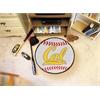 "FANMATS UC Berkeley Baseball Mat 27"" diameter"