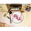 "FANMATS Florida State Baseball Mat 27"" diameter"