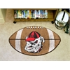 "FANMATS Georgia Football Rug 20.5""x32.5"""